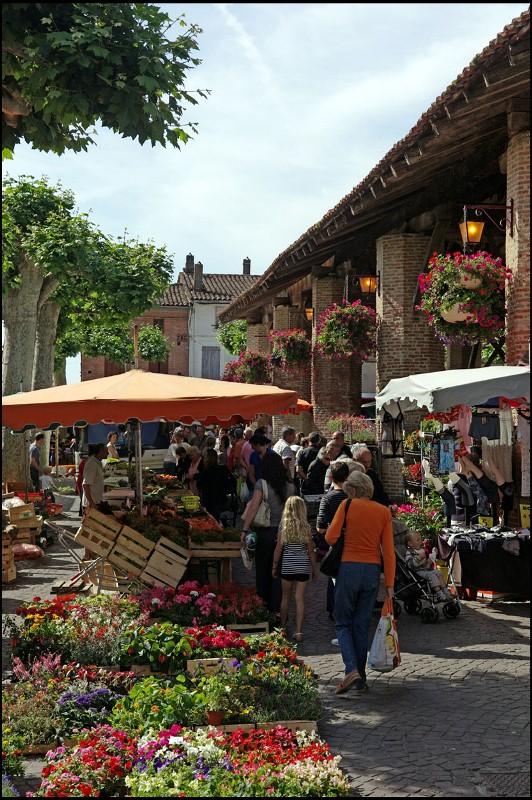 Photo du marché de Grenade sur Garonne