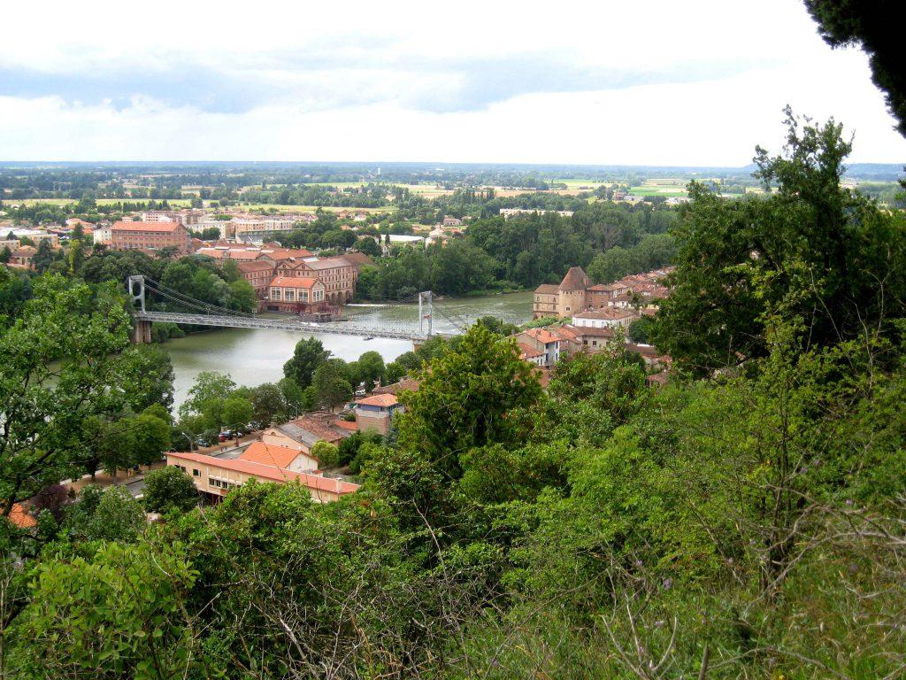 Vue de Villemur sur Tarn