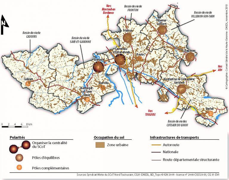 Le Principe d'organisation urbaine et d'aménagement du SCoT